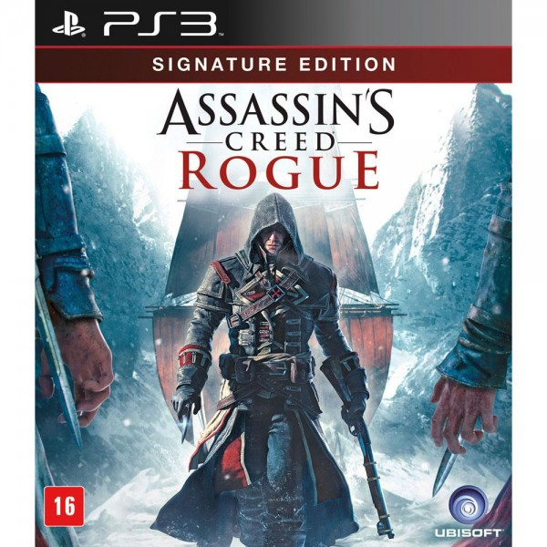 Game PS3 - Assassin's Creed Rogue