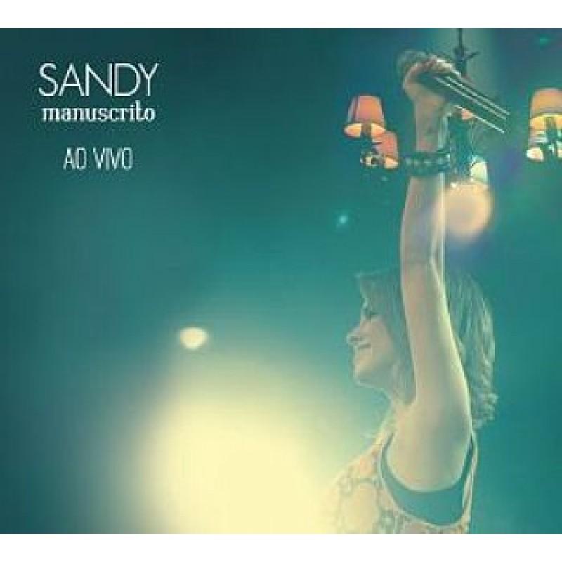 cd sandy manuscrito ao vivo para