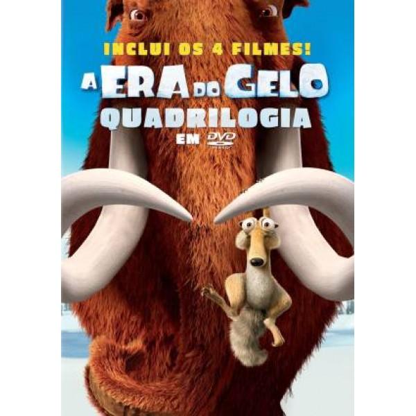 Box A Era do Gelo - Quadrilogia (4 DVD`s)