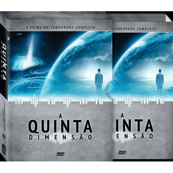 Box A Quinta Dimensão - A Primeira Temporada Completa (5 DVD's)