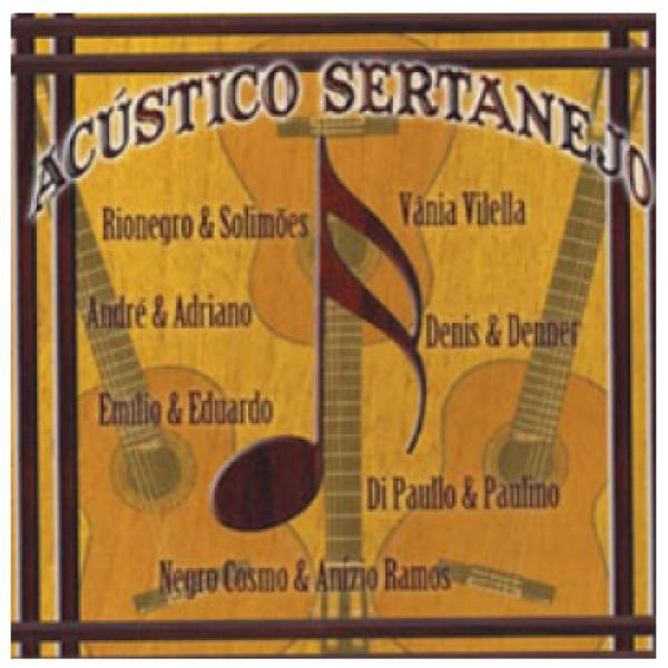 CD Acústico Sertanejo