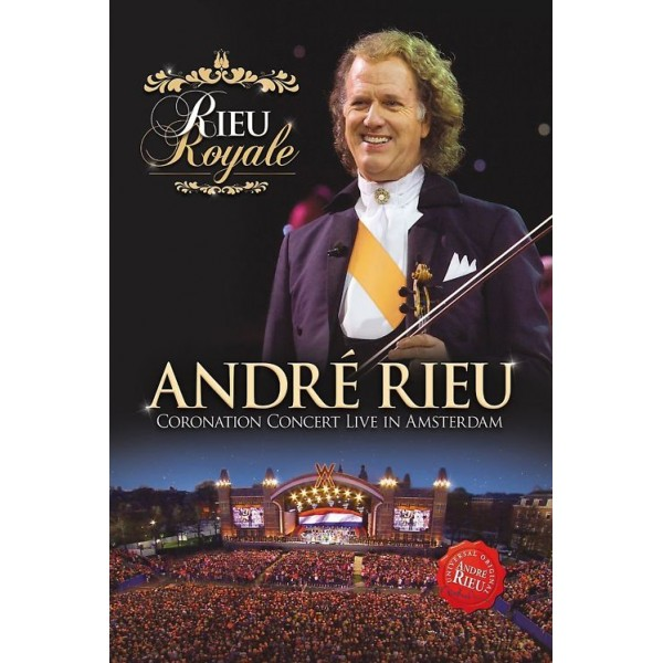 DVD André Rieu - Rieu Royale (Live in Amsterdam)