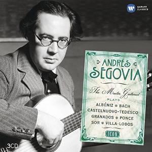 CD Andrés Segovia - The Master Guitarrist Plays (EMI Classics)