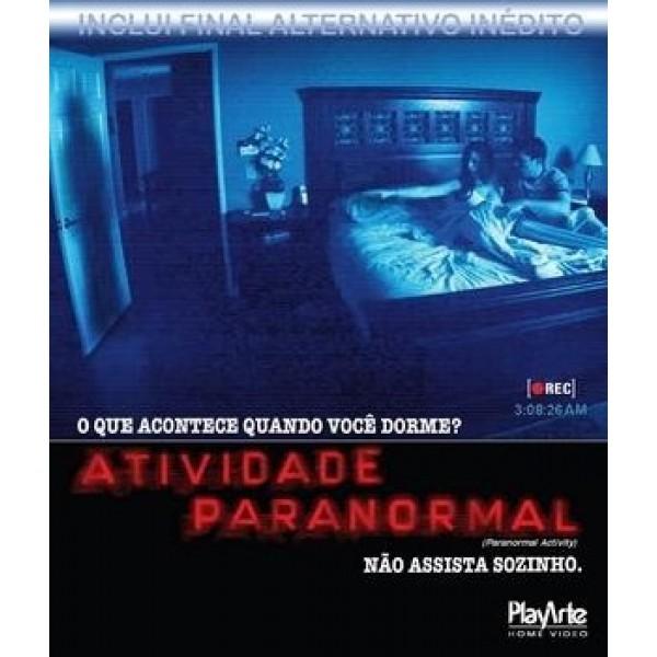 Blu-Ray Atividade Paranormal