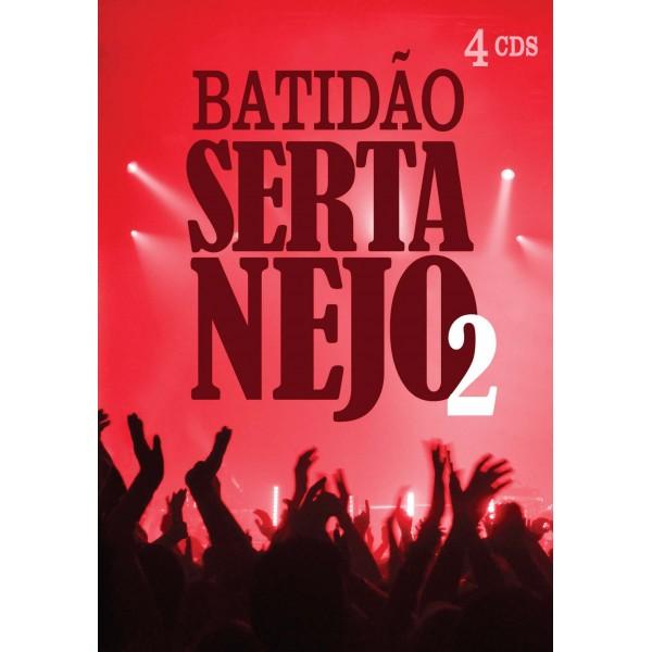 Box Batidão Sertanejo 2 (4 CD's)
