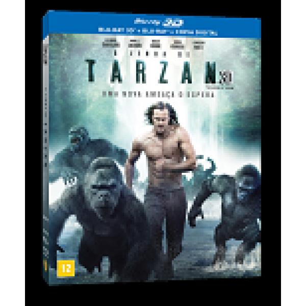 Blu-Ray 3D + Blu-Ray - A Lenda de Tarzan