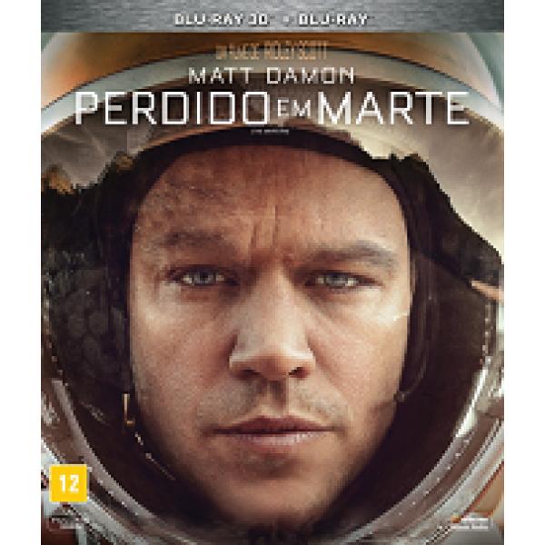 Blu-Ray 3D + Blu-Ray Perdido Em Marte