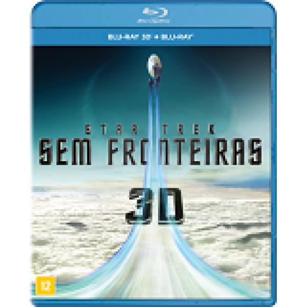 Blu-Ray 3D + Blu-Ray - Star Trek: Sem Fronteiras