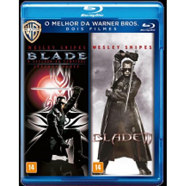 Blu-Ray Blade: O Caçador de Vampiros/Blade II (DUPLO)