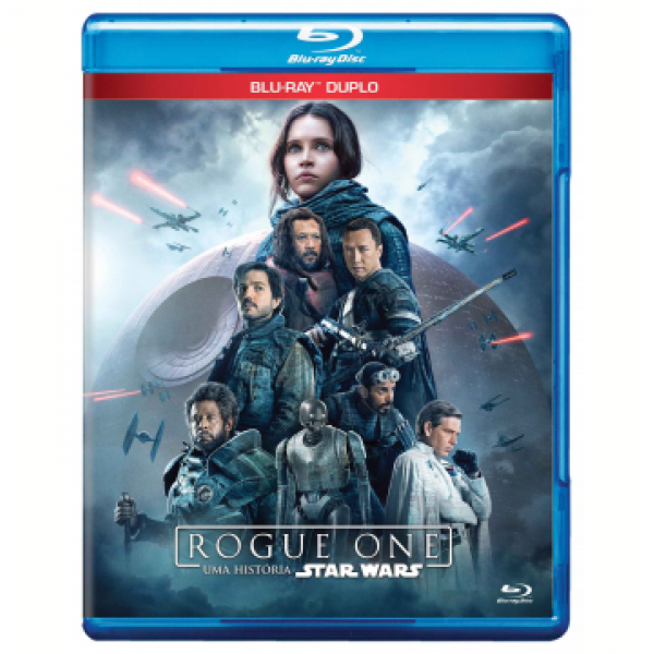 Blu-Ray Rogue One: Uma História Star Wars (DUPLO)