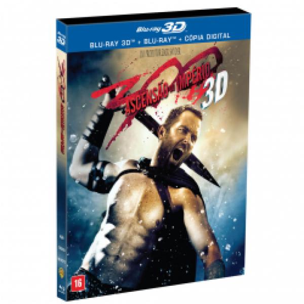 Blu-Ray 3D + Blu-Ray - 300 - A Ascensão do Império