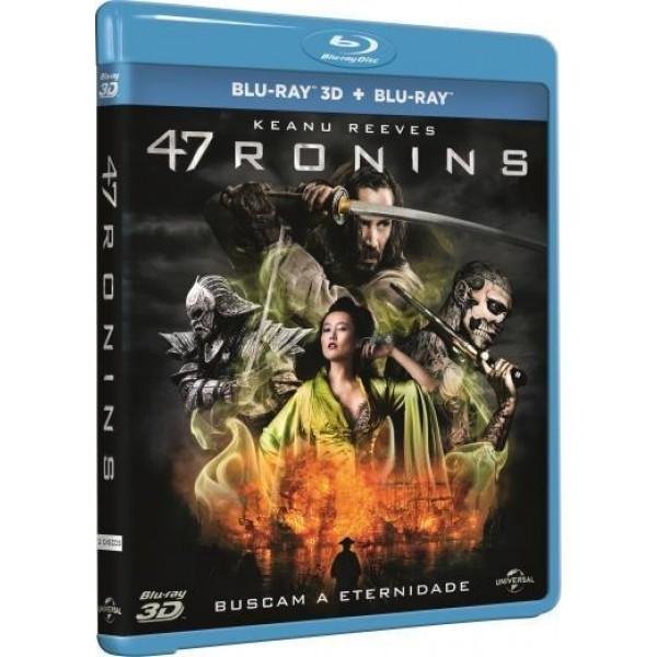 Blu-Ray 3D + Blu-Ray - 47 Ronins