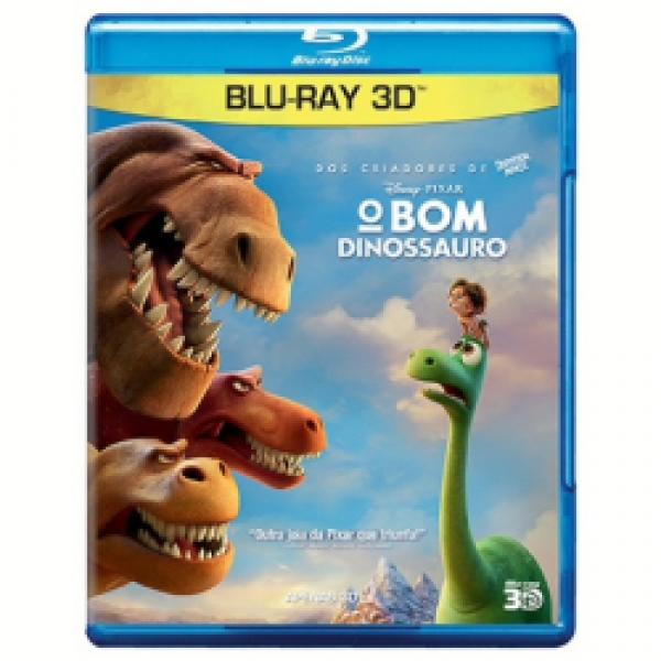 Blu-Ray 3D O Bom Dinossauro