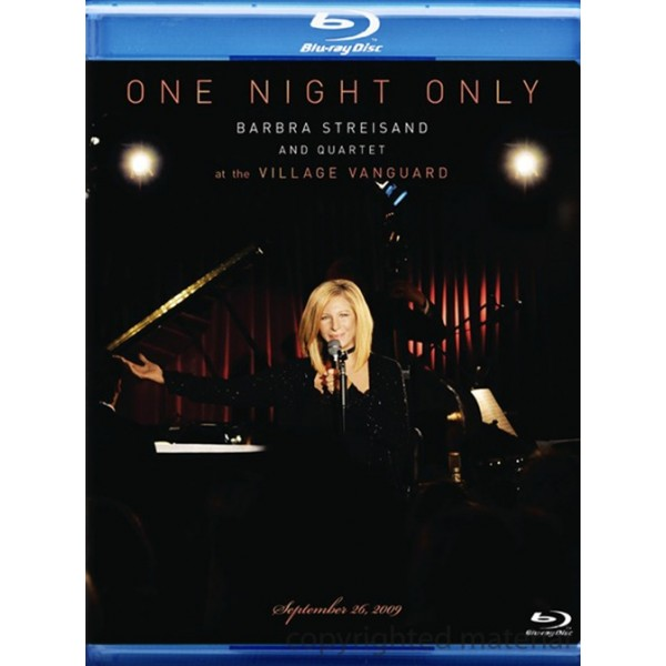Blu-Ray Barbra Streisand And Quartet - One Night Only (2009)