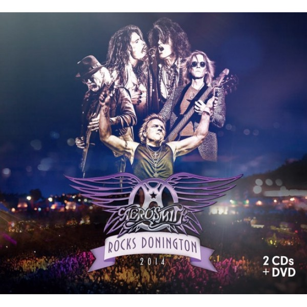 Box Aerosmith - Rocks Donington 2014 (2 CD's + DVD)