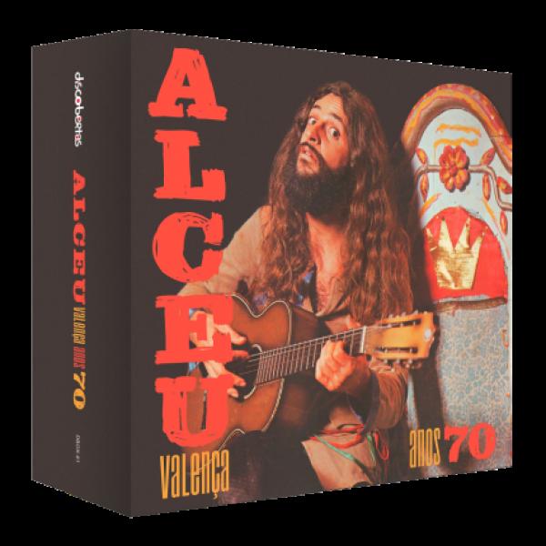 Box Alceu Valença - Anos 70 (4 CD's)