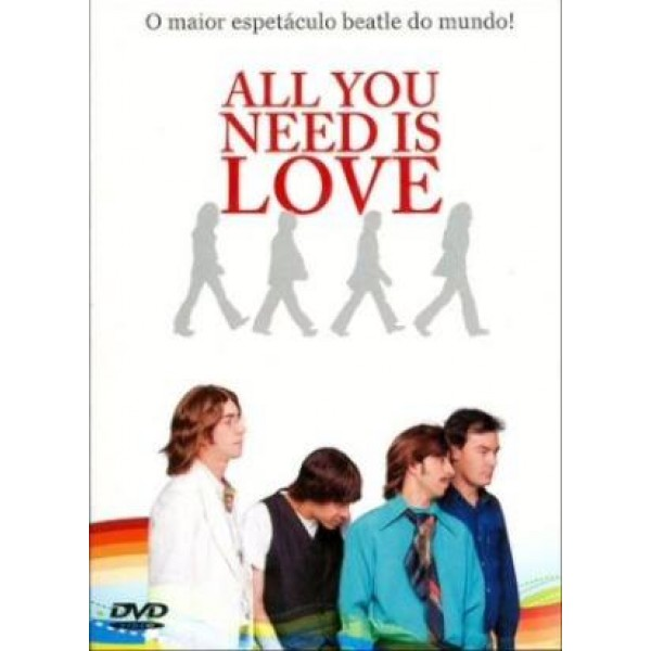 Box All You Need Is Love - O Maior Espetáculo Beatle do Mundo (3 DVD's)
