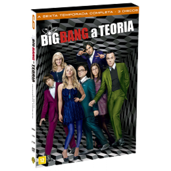 Box Big Bang A Teoria - A Sexta Temporada Completa (3 DVD's)