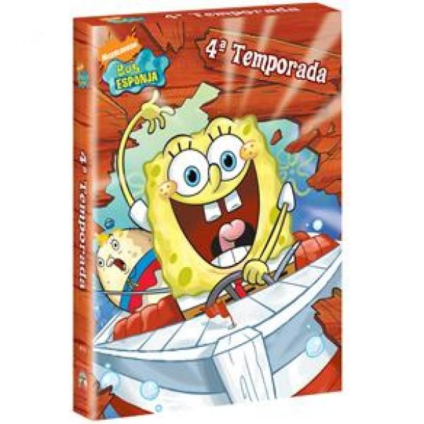 Box Bob Esponja - 4ª Temporada (3 DVD's)