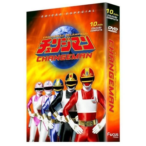 Box Changeman - Edição Especial (10 DVD's)