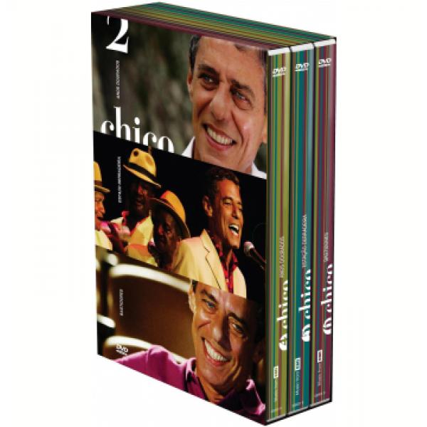 Box Chico Buarque - Vol. 2 (3 DVD's)
