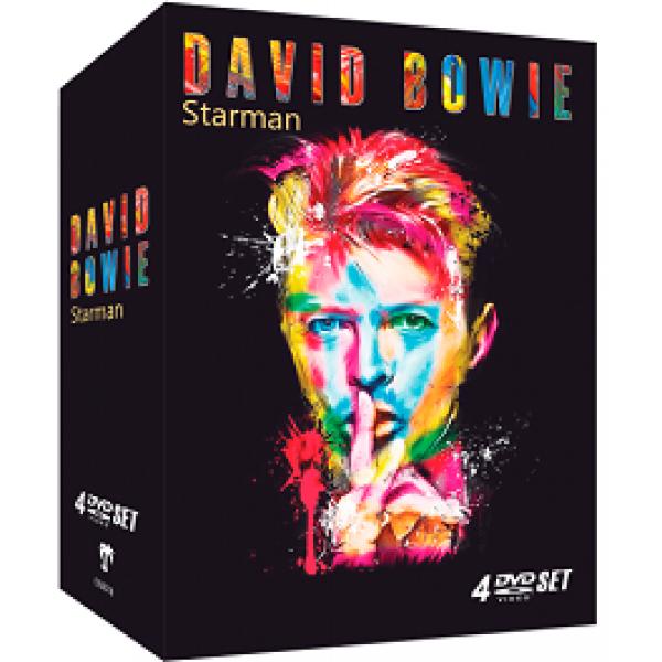 Box David Bowie - Starman (4 DVD's)