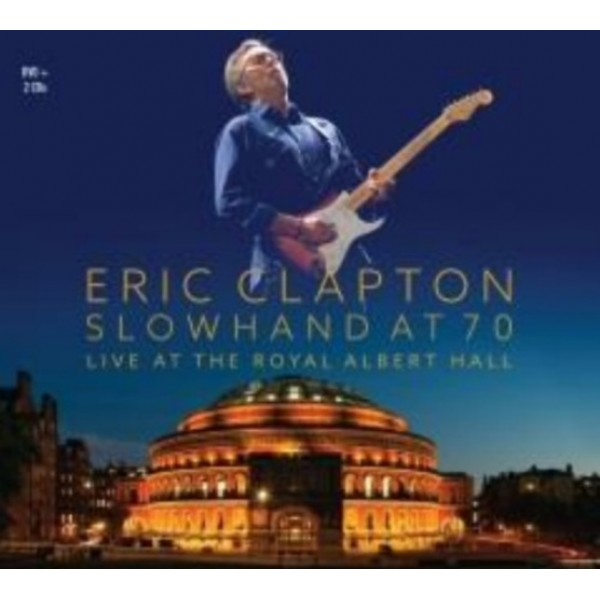 box eric clapton slowhand at 70 live at the royal albert hall 2 cd 39 s dvd merci disco. Black Bedroom Furniture Sets. Home Design Ideas