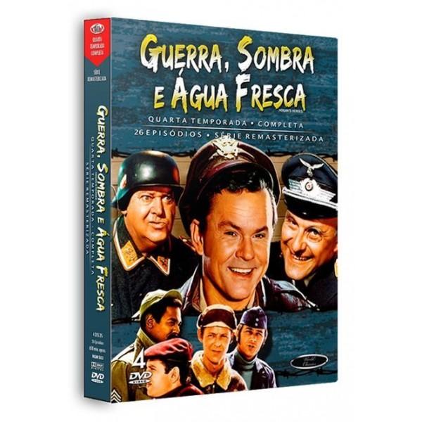Box Guerra, Sombra e Água Fresca - Quarta Temporada Completa (4 DVD's)