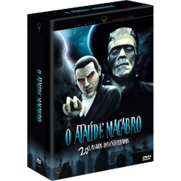 Box O Ataúde Macabro - 20 Clássicos Desenterrados (10 DVD's)