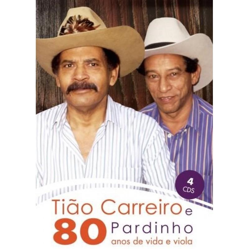 Box Tiao Carreiro e Pardinho - 80 Anos de Vida e Viola (4 CD s ... bea9c77e546