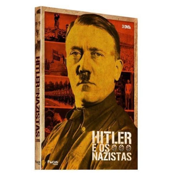 Box Hitler e os Nazistas (3 DVD's)
