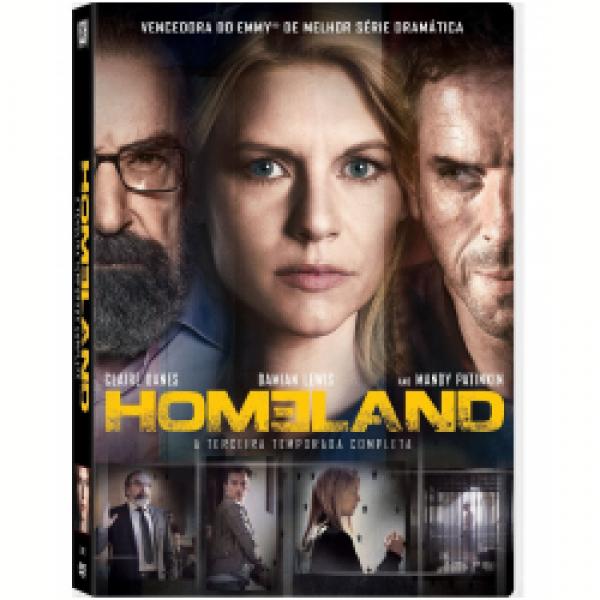 Box Homeland - 3ª Temporada Completa (4 DVD's)