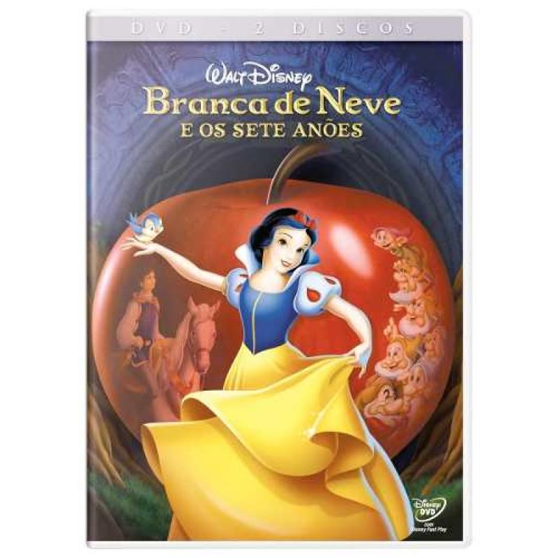 Dvd Branca De Neve E Os Sete Anoes Duplo Merci Disco