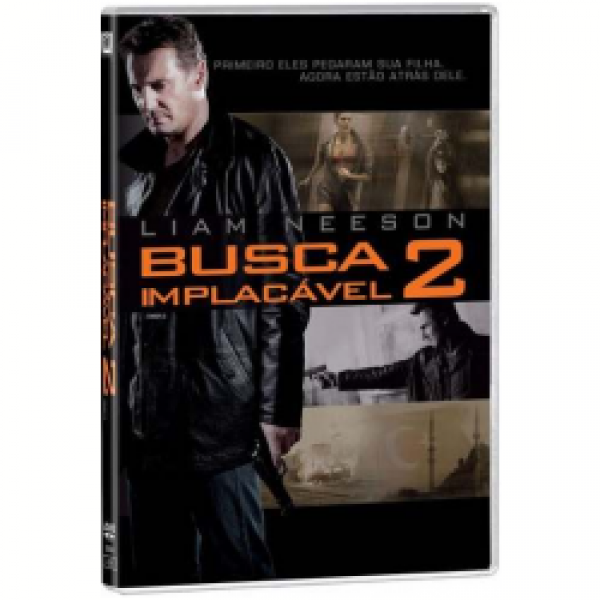 DVD Busca Implacável 2