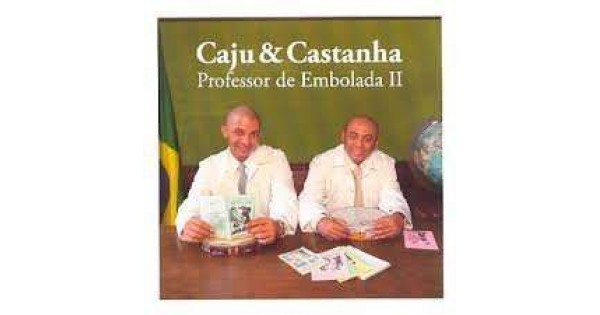 do cd caju e castanha professor de embolada