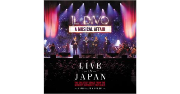 Cd dvd il divo a musical affair live in japan merci - Il divo bring him home ...