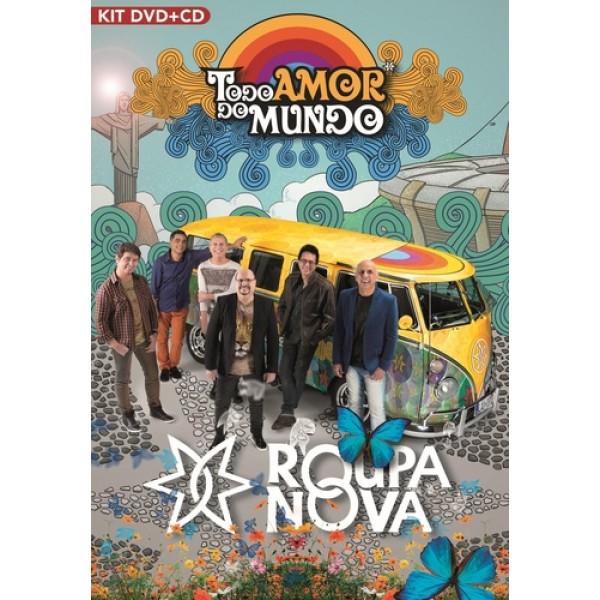 DVD + CD Roupa Nova - Todo Amor do Mundo