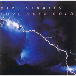 CD Dire Straits - Love Over Gold