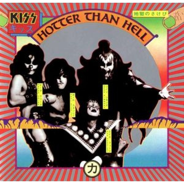 CD Kiss - Hotter Than Hell (IMPORTADO)
