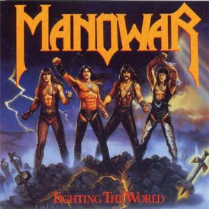 CD Manowar - Fighting The World (IMPORTADO)