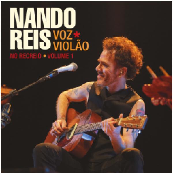 CD Nando Reis - Voz e Violão