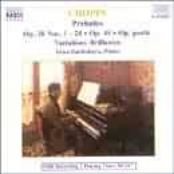 CD Irina Zaritzkaya - Chopin Preludes Op. 28-45