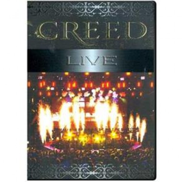 DVD Creed - Live (Importado)