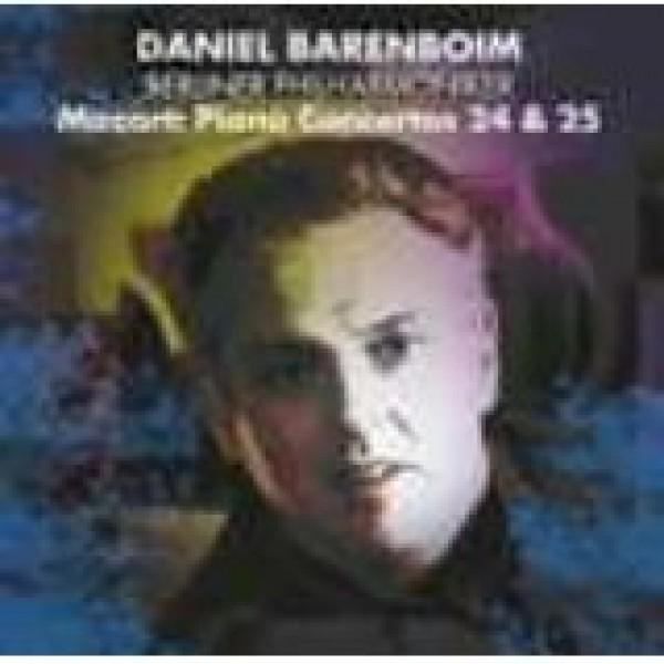 CD Daniel Barenboim - Mozart: Piano Concertos 24,25