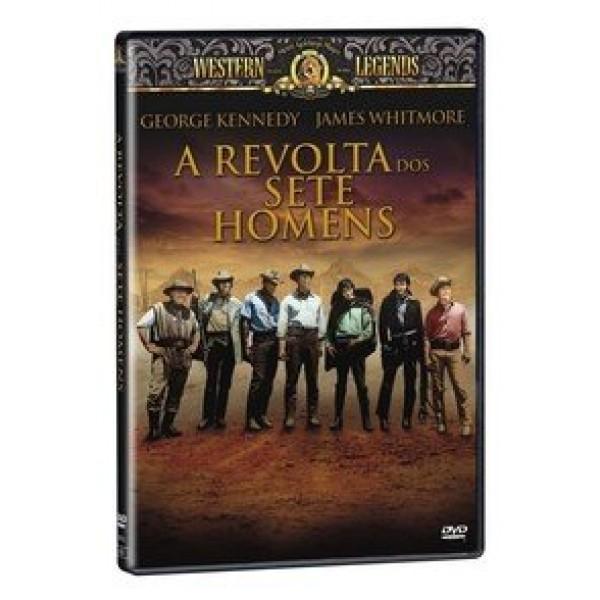DVD A Revolta Dos Sete Homens