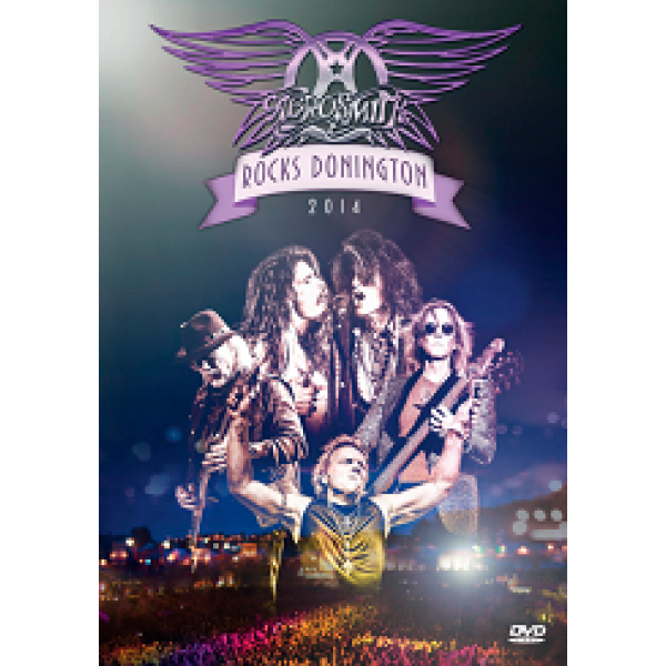 DVD Aerosmith - Rocks Donington