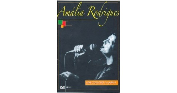 DVD Amália Rodrigues - Live Concert In Japan