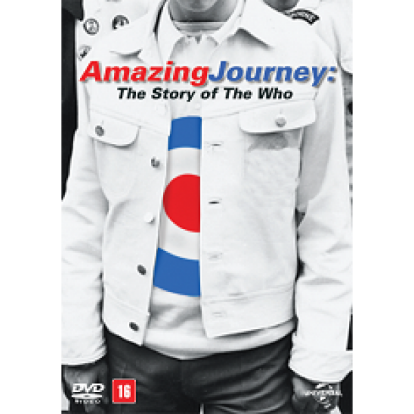 DVD Amazing Journey - The Story Of The Who (DUPLO)