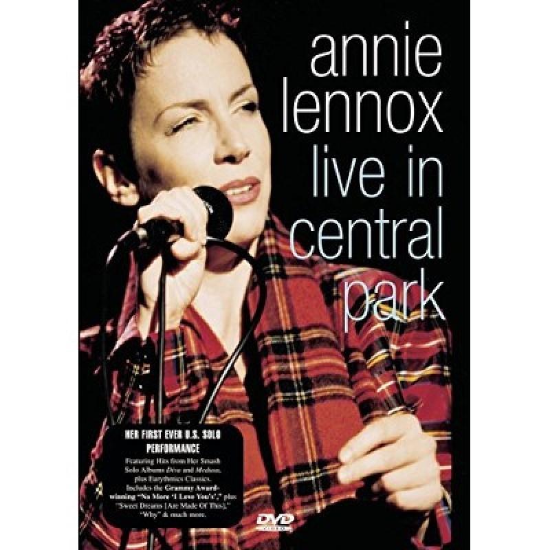 Dvd Annie Lennox Live In Central Park Merci Disco