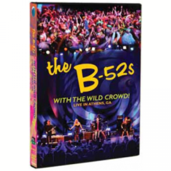 DVD The B-52's - With The Wild Crowd